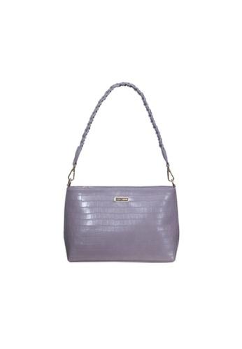 Verchini purple Verchini Twist Top Handle Sing Bag 457C8AC2CC8AA0GS_1