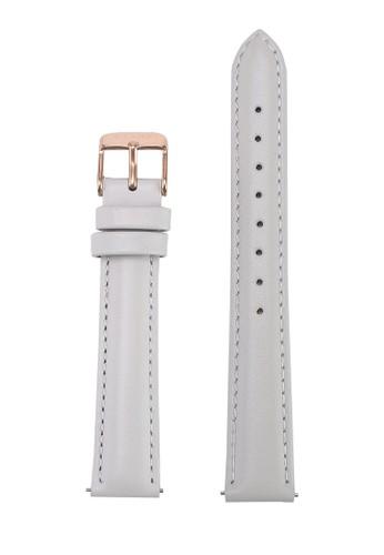 Klarf grey Petite Leather Strap E82D1AC1558B1BGS_1