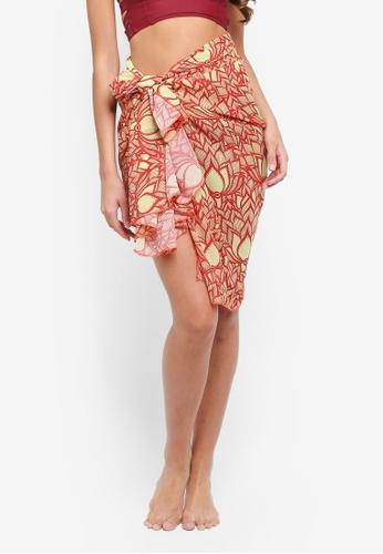 Malibu Beachwear multi Lotus Sun Wrap 277EDUS35E8F95GS_1