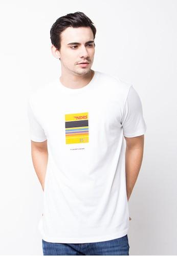Endorse Tshirt B Kodak Ndrs White END-PE003