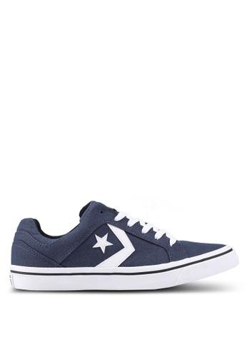 Converse navy EL Distrito Core Ox Sneakers 91A8BSHFDF24ADGS_1