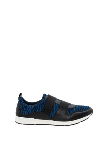 SEMBONIA blue SEMBONIA Men Microfiber Sneaker (Dark Blue) 49AACSH0AB147EGS_1