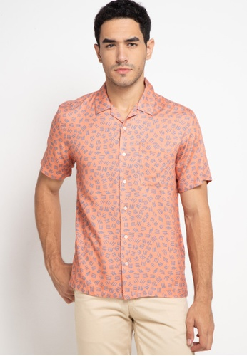 Skelly pink Tropical Shirts T4 Coral Pattern AD991AA46FFF89GS_1