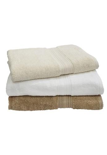 Martex Bundle Of 3 Martex (USA) Purity 100% Combed Cotton Bath Towel 70x140cm 490 gram. D63FBHL1EA427BGS_1