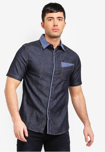 Fidelio 黑色 休閒短袖襯衫 548EDAA344391BGS_1
