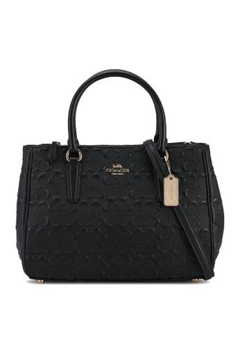 Coach black Surrey Carryall Bag (cv) 2EFA8ACFB02796GS_1