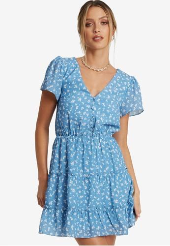 Savel blue Clifton Dress A43E5AAA2CE9E1GS_1