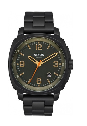 Nixon black CHARGER ALL BLACK/SURPLUS 1B437AC52E4D73GS_1