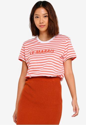 Cotton On orange Tbar Fox Graphic T shirt 20611AA0D0F0E8GS_1