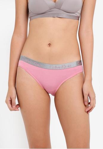 Calvin Klein pink Radiant Cotton Bikini Panties - Calvin Klein Underwear 43896US61261DFGS_1