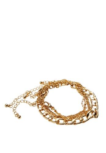 Violeta by MANGO gold Mixed Bracelet Set 97CC9ACC9163D9GS_1