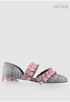 267dec10afe House of Avenues grey Teen Queen Ruffle Flats 67BC1SHF86C01EGS 1