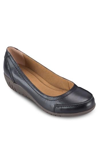 Gaesprit台灣網頁le I 皮革楔型鞋, 女鞋, 鞋