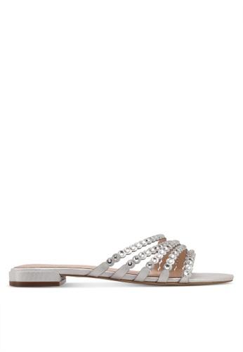 ALDO silver Kaja Occasion Sandals F0A7FSHBE4B78BGS_1