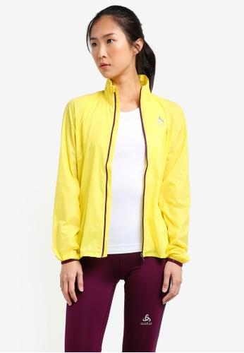 Odlo yellow LTTL Jacket OD608AA0S12VMY_1