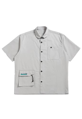 Twenty Eight Shoes Stitched Pockets Short Sleeve Shirt 2393S21 07FC1AA130395FGS_1