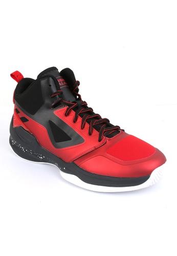 World Balance red Fire Power Men's Basketball Shoes 2C5C4SH0F5A9BEGS_1
