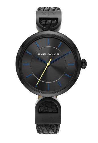 Armani Exchange black Watch AX5382 60905ACC6BBD51GS_1