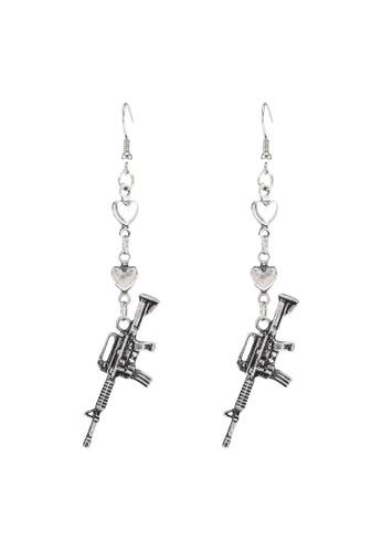 Saturation silver Bang Bang Drop Earrings 0A21CACCF1B01AGS_1