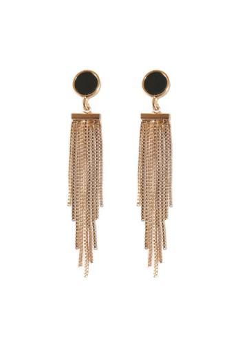 La Miina gold Rhianna Dinner Earrings B01F9ACC2708B9GS_1