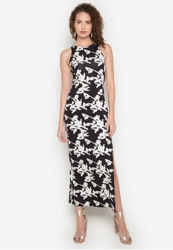 Daria black Giada Maxi Dress DA017AA0KAIUPH_1