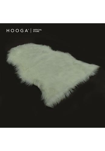 HOOGA pink Hooga Faux Sheep Merynna Ivory White 4EDB1HLB1AB608GS_1