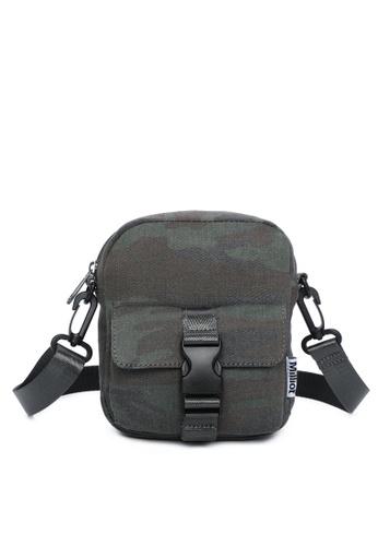 Milliot & Co. green Hoga Sling Bag 55A3FAC8D667AEGS_1