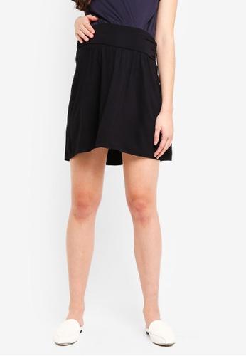 Envie De Fraise black Maternity Givona Skirt D9FD8AA1701A21GS_1