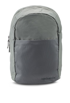 6ab575a5f65 New Balance green LSA City Backpack 35BEEAC285A2BAGS 1