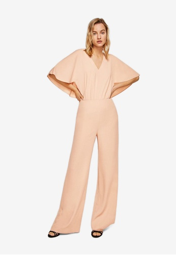 Mango pink Doble-Layer Jumpsuit DA923AAFC895C6GS_1