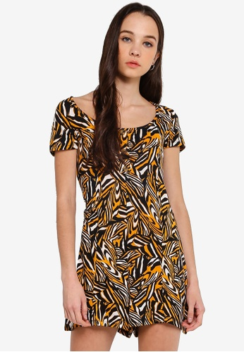 96912296751d Buy Cotton On Carrie Button Through Playsuit Online on ZALORA Singapore