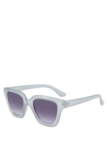 Mango blue Acetate Frame Sunglasses C6825GLE6E027BGS_1