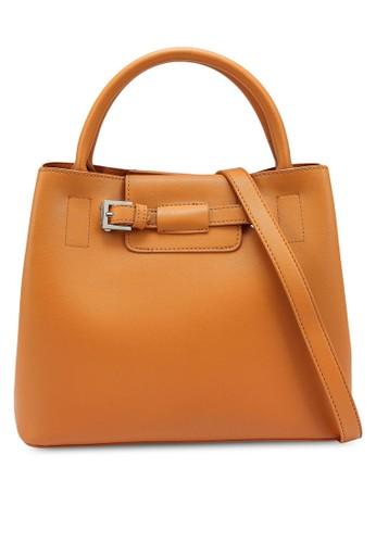 Nose orange Structure Hand Bag 83936ACC81176EGS_1