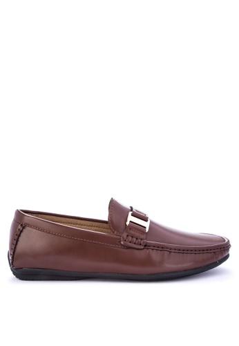 Mendrez brown Nigel Loafers & Moccasins A1FE2SH22BFCC1GS_1