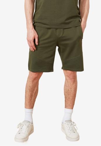 Trendyol green Shorts with Zipper Pocket 684A7AA6E06A58GS_1
