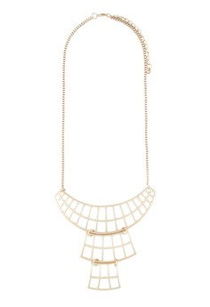 Tiered Cut-out Necklace