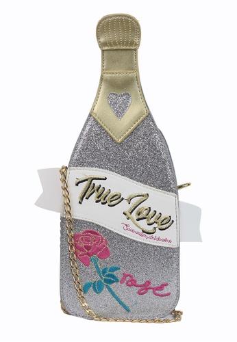 Dazz silver Champagne Bottle Bag - Silver EBA0DAC0EA5D37GS_1