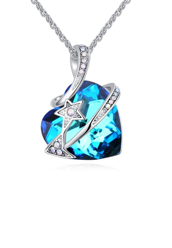 Urban Outlier blue and silver Crystal Necklace 129427 D0A7CACC406A9CGS_1