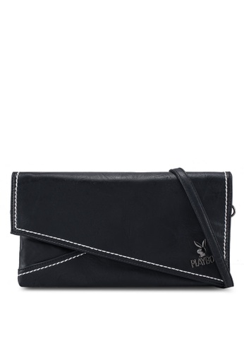 Playboy black Playboy Clutch Bag 86C03AC1D1AC11GS_1