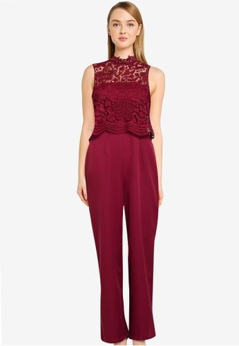 CHI CHI LONDON purple Chi Chi Maliah Jumpsuit BE758AADE772A7GS_1