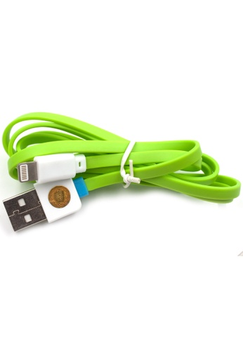BAVIN green Synchronized Data Line for Iphone 5 E210BACBA2A6FCGS_1