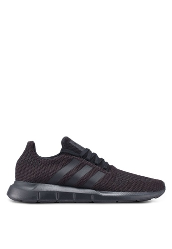 adidas black adidas originals swift run A68B0SH6CC849AGS_1