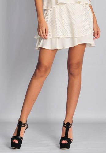 SJO & SIMPAPLY white SJO Remind Natural Women's Skirt SJ108AA91NDGID_1