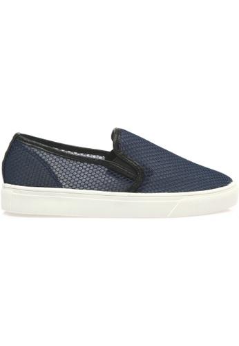 paperplanes navy SNRD-141 Mesh Super Light Casual Slip-Ons Shoes US Women Size PA355SH96QCDSG_1