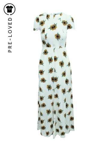 Reformation multi Pre-Loved reformation Maxi Cream Dress with Sunflowers Print 076D2AAFF0C72AGS_1