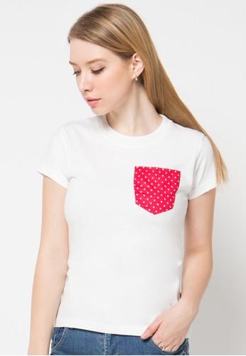DocDenim white Ladies Chimerra Casual Tshirt DO336AA57LSOID_1