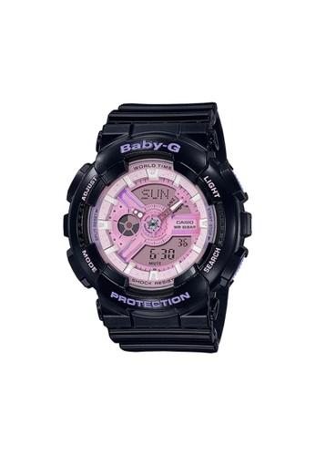 Casio black CASIO BABY-G BA-110PL-1ADR BLACK RESIN BAND WOMEN'S SPORTS WATCH E3F93ACF9B68B8GS_1