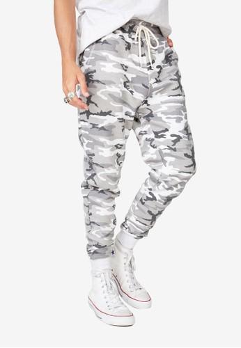 Cotton On grey Trippy Slim Trackie Pants B45CBAA2368E1AGS_1