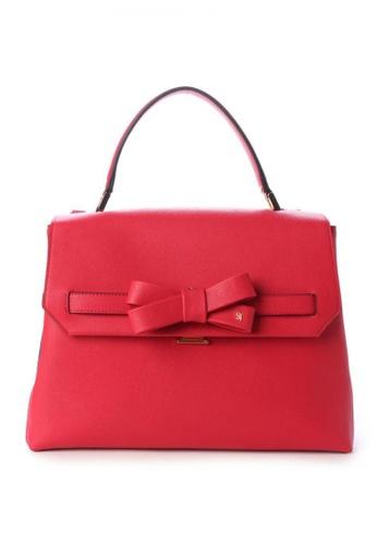 Samantha Thavasa red Samantha Thavasa Blooming Pastel Ribbon Bag 4E8BBAC924988CGS_1