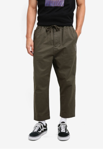 Stoned & Co brown Stoned & Co Logo Chinos Brown 754F3AA319C5B0GS_1